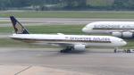 誘喜さんが、シンガポール・チャンギ国際空港で撮影したシンガポール航空 777-212/ERの航空フォト(写真)