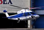 チャーリーマイクさんが、東京ヘリポートで撮影した法人所有 S-76Cの航空フォト(写真)