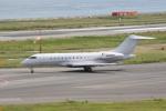 いっとくさんが、関西国際空港で撮影したウェルズ・ファーゴ・バンク・ノースウェスト BD-700-1A11 Global 5000の航空フォト(写真)