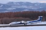 Take51さんが、中標津空港で撮影したANAウイングス DHC-8-402Q Dash 8の航空フォト(写真)