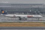 とりてつさんが、羽田空港で撮影したルフトハンザドイツ航空 A340-642の航空フォト(写真)