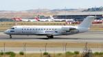 誘喜さんが、マドリード・バラハス国際空港で撮影したエア・ノーストラム CL-600-2B19 Regional Jet CRJ-200ERの航空フォト(写真)