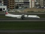 空の旅人さんが、福岡空港で撮影した日本エアコミューター DHC-8-402Q Dash 8の航空フォト(写真)