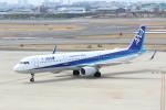 水月さんが、伊丹空港で撮影した全日空 A321-211の航空フォト(写真)