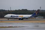 A350XWB-HNDさんが、成田国際空港で撮影したアトラス航空 747-47UF/SCDの航空フォト(写真)
