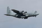 isiさんが、厚木飛行場で撮影したアメリカ海軍 C-130T Herculesの航空フォト(写真)