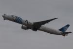 木人さんが、成田国際空港で撮影したエジプト航空 777-36N/ERの航空フォト(写真)