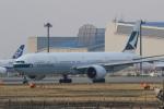 多楽さんが、成田国際空港で撮影したキャセイパシフィック航空 777-367/ERの航空フォト(写真)
