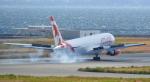 toyoquitoさんが、関西国際空港で撮影したエア・カナダ・ルージュ 767-35H/ERの航空フォト(写真)