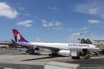徳兵衛さんが、ホノルル国際空港で撮影したハワイアン航空 A330-243の航空フォト(写真)