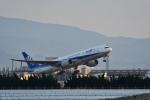 Nikon787さんが、松山空港で撮影した全日空 777-281の航空フォト(写真)