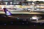 B747‐400さんが、羽田空港で撮影したサウジアラビア王国政府 747SP-68の航空フォト(写真)