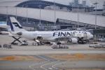 うすさんが、関西国際空港で撮影したフィンエアー A330-302Xの航空フォト(写真)