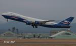 RINA-200さんが、小松空港で撮影したシルクウェイ・ウェスト・エアラインズ 747-83QFの航空フォト(写真)