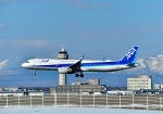 Cygnus00さんが、新千歳空港で撮影した全日空 A321-211の航空フォト(写真)