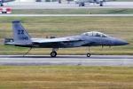 Flankerさんが、嘉手納飛行場で撮影したアメリカ空軍 F-15D Eagleの航空フォト(写真)