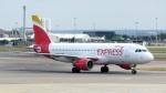 誘喜さんが、ロンドン・ヒースロー空港で撮影したイベリア・エクスプレス A320-214の航空フォト(写真)