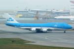 Mar Changさんが、香港国際空港で撮影したKLMオランダ航空 747-406Mの航空フォト(写真)