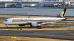 コージーさんが、羽田空港で撮影したシンガポール航空 A350-941XWBの航空フォト(写真)