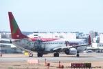 tabi0329さんが、福岡空港で撮影したティーウェイ航空 737-8HXの航空フォト(写真)