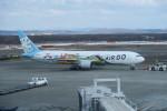 職業旅人さんが、新千歳空港で撮影したAIR DO 767-381の航空フォト(写真)