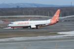 職業旅人さんが、新千歳空港で撮影したチェジュ航空 737-86Jの航空フォト(写真)