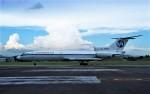 ハミングバードさんが、名古屋飛行場で撮影したウラジオストク航空 Tu-154B-2の航空フォト(写真)