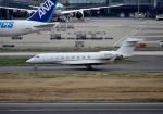 mojioさんが、羽田空港で撮影したウェルズ・ファーゴ・バンク・ノースウェスト G-V-SP Gulfstream G550の航空フォト(写真)