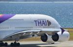 toyoquitoさんが、関西国際空港で撮影したタイ国際航空 A380-841の航空フォト(写真)