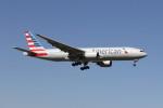 utarou on NRTさんが、成田国際空港で撮影したアメリカン航空 777-223/ERの航空フォト(写真)