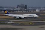 mougandouさんが、羽田空港で撮影したルフトハンザドイツ航空 747-830の航空フォト(写真)