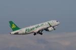 yabyanさんが、名古屋飛行場で撮影した春秋航空 A320-214の航空フォト(写真)