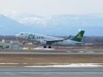 いおんさんが、新千歳空港で撮影した春秋航空 A320-214の航空フォト(写真)