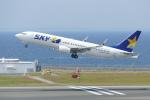 せせらぎさんが、中部国際空港で撮影したスカイマーク 737-86Nの航空フォト(写真)