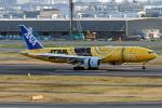コージーさんが、羽田空港で撮影した全日空 777-281/ERの航空フォト(写真)