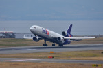 simokさんが、関西国際空港で撮影したフェデックス・エクスプレス MD-11Fの航空フォト(写真)