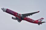 simokさんが、関西国際空港で撮影したエアアジア・エックス A330-343Xの航空フォト(写真)