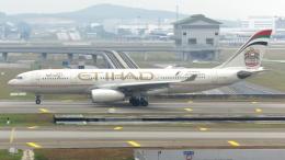 誘喜さんが、クアラルンプール国際空港で撮影したエティハド航空 A330-243の航空フォト(写真)