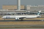 むこいちさんが、羽田空港で撮影したキャセイパシフィック航空 777-367/ERの航空フォト(写真)