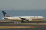 むこいちさんが、羽田空港で撮影したユナイテッド航空 777-222/ERの航空フォト(写真)
