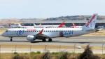 誘喜さんが、マドリード・バラハス国際空港で撮影したエア・ヨーロッパ ERJ-190-200 LR (ERJ-195LR)の航空フォト(写真)