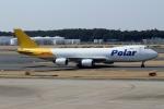 ハピネスさんが、成田国際空港で撮影したポーラーエアカーゴ 747-87UF/SCDの航空フォト(写真)