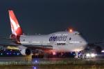 中トロ・バジーナさんが、羽田空港で撮影したカンタス航空 747-438/ERの航空フォト(写真)