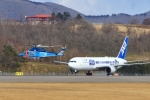 Airway-japanさんが、函館空港で撮影した全日空 767-381/ERの航空フォト(写真)