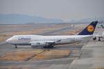 うすさんが、関西国際空港で撮影したルフトハンザドイツ航空 747-430の航空フォト(写真)