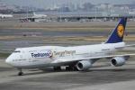 中トロ・バジーナさんが、羽田空港で撮影したルフトハンザドイツ航空 747-830の航空フォト(写真)
