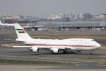 中トロ・バジーナさんが、羽田空港で撮影したドバイ・ロイヤル・エア・ウィング 747-422の航空フォト(写真)