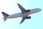 Tomo_ritoguriさんが、福岡空港で撮影した吉祥航空 A320-214の航空フォト(写真)