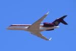 Timothyさんが、成田国際空港で撮影したバミューダ企業所有 BD-700 Global Express/5000/6000の航空フォト(写真)