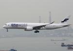 Willieさんが、香港国際空港で撮影したフィンエアー A350-941XWBの航空フォト(写真)